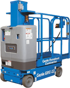 Genie GRC12 Runabout Contractor Vertical Lift