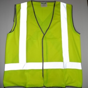 Part No. 228258XXL Yellow Hi-Visibility Vest Protective Clothing